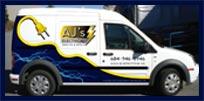 AJ's Electrical Contractors Ltd. Service Areas